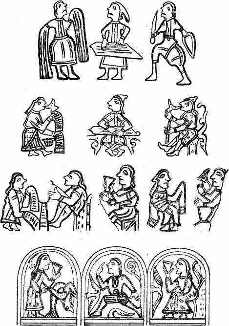 рисунки мифов: