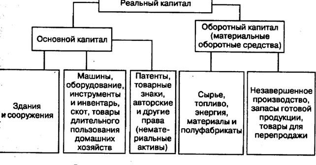 Понятие и состав основного капитала реферат 5709