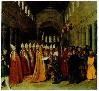 Реферат на тему церковь в средние века 9664