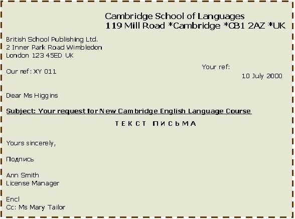 как правильно писать письмо на немецком языке образец - фото 6