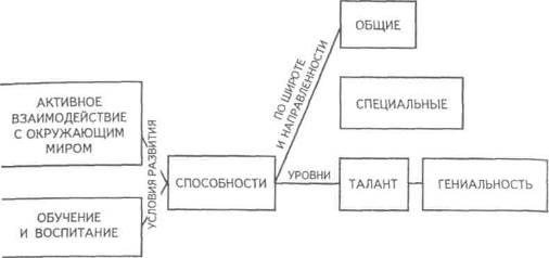 Общая структура способностей