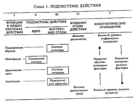 В столбце I перечислены функциональные категории, интерпретируемые...  На схеме 1 представлены основные отношения...